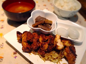 鶏肉の塩麹焼き