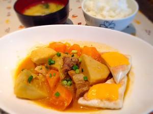 豚肉と根菜のコチジャン風煮込み