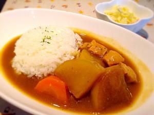 チキンと野菜のパラダイスカレー