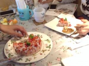 ♡苺のタルト風♡